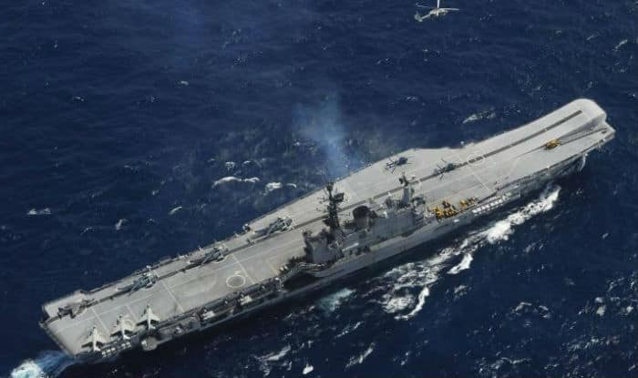 Fire onboard INS Viraat, one sailor dies