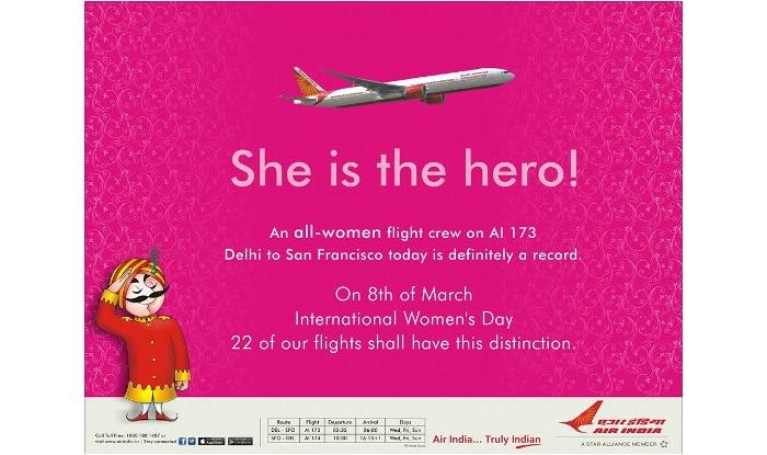 airindiawomensflight