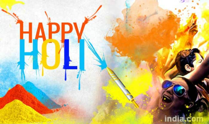 Holi 2019: WhatsApp Messages, Quotes, GIFs, SMS in English And Hindi to Wish Everyone