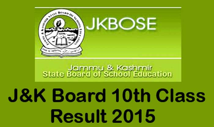 JKBOSE class 10 annual results 2015 declared on official website