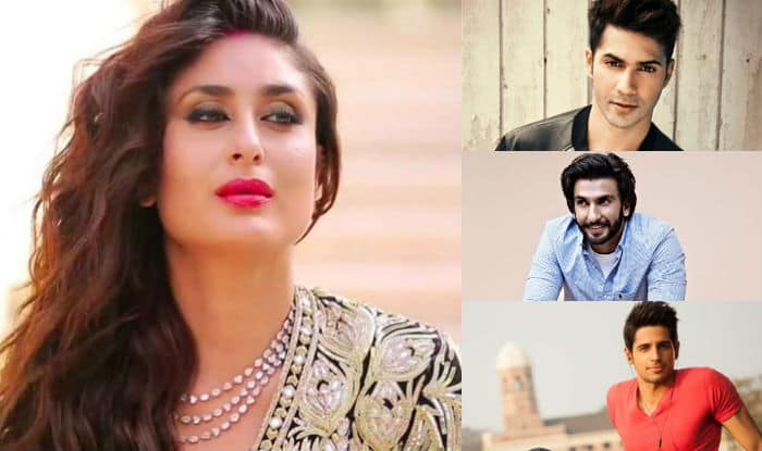 Here is why Kareena Kapoor Khan is desperate to work with Ranveer Singh, Sidharth Malhotra & Varun Dhawan