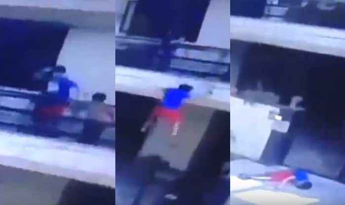 Delhi: 13-year-old boy falls from balcony while throwing water balloons (Graphic video)