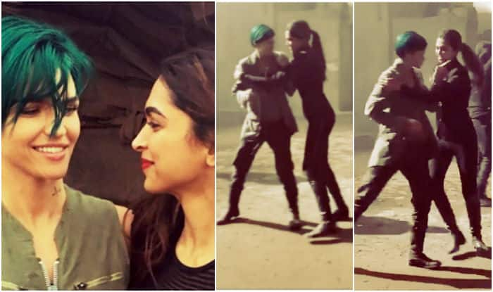When Deepika Padukone & Ruby Rose grooved to Yo Yo Honey Singh on the sets of xXx! Watch video