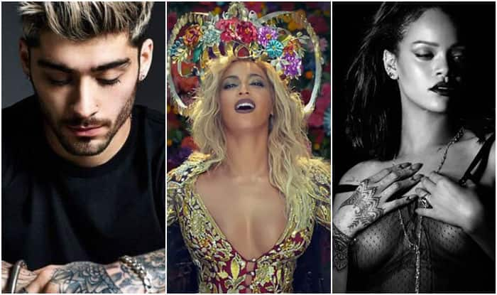 Zayn, Rihanna, Beyonce: Top 6 most addictive international singles of 2016 you should listen to right now!