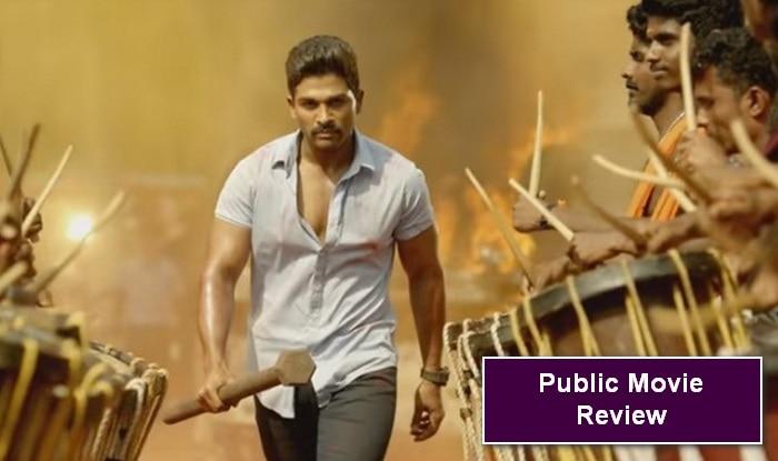 Sarrainodu public movie review: Blockbuster Allu Arjun movie! (Watch video)
