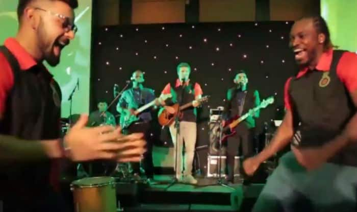 Video: Virat Kohli, Chris Gayle groove with carefree abandon, Shane Watson takes over vocals