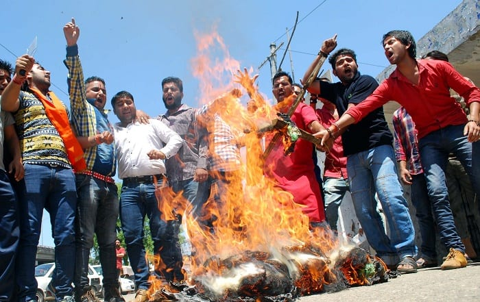 Jharkhand: Facebook post by two teenagers, disrespecting Goddess Durga, leads to communal riots in Bermo