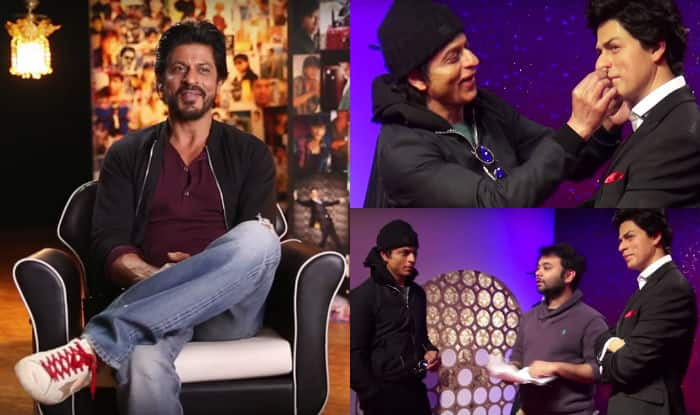 FAN: Watch the making of Shah Rukh Khan's film at Madame Tussauds London