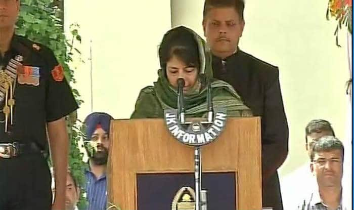 Jammu and Kashmir: Mehbooba Mufti allocates portfolios to the Council of Ministers