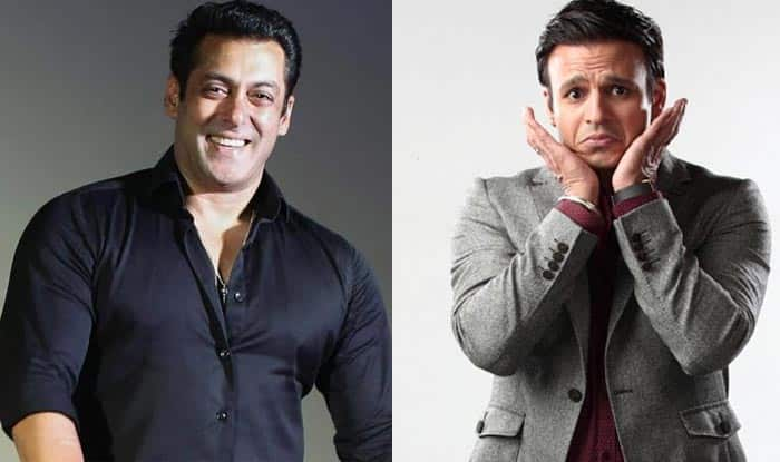 Look what Vivek Oberoi did when asked about Salman Khan!
