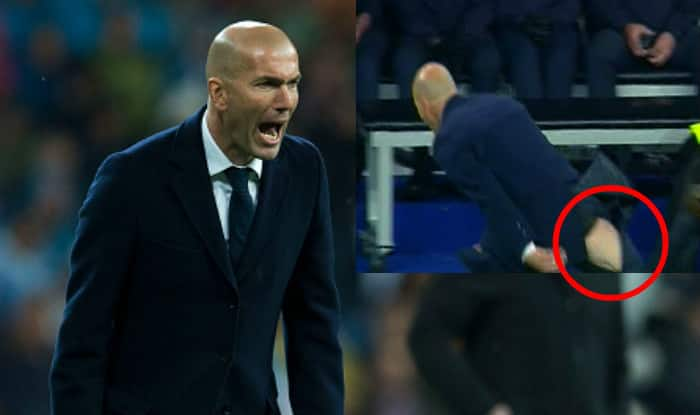 WATCH- When Zinedine Zidane ripped his pants during Real Madrid vs Wolfsburg