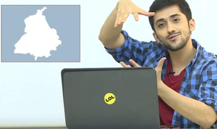 What happens when adults are shown the shape of Indian states and asked to guess the name?