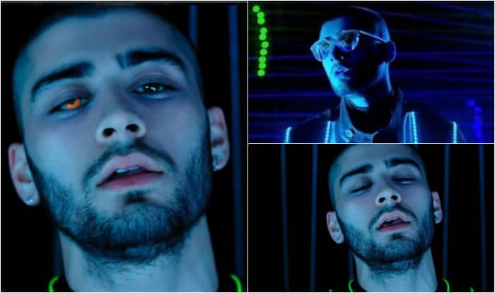 Zayn wows with his Tron-inspired look in futuristic Like I Would video