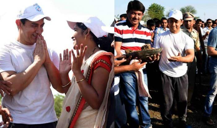 Must watch: Aamir Khan visits Maharashtra's Amravati for drought relief; contributes to water project (Video)