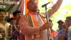 RSS training made us capable of breaking necks with our bare hands: Dilip Ghosh