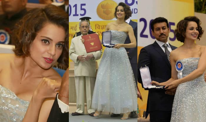 Did Kangana Ranaut breach dress protocol while appearing before Indian President?