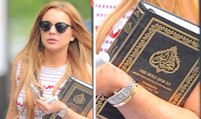 Lindsay Lohan Quran
