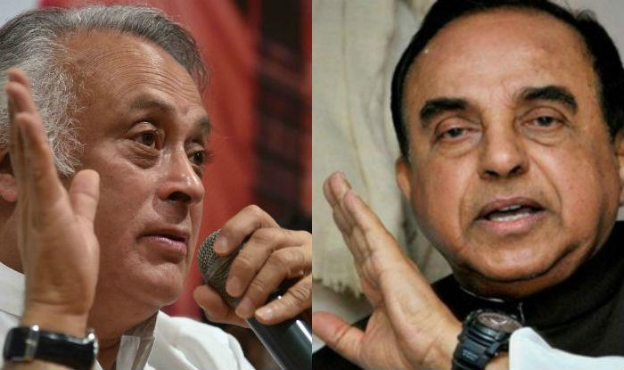Jairam Ramesh to bring privilege motion against Subramanian Swamy in Rajya Sabha, BJP MP says will teach Congress law