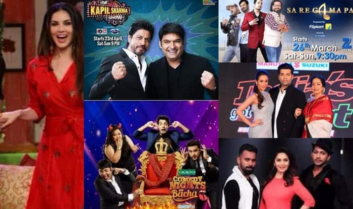 Weekend War on TV: The Kapil Sharma Show, Comedy Nights Live, So You Think You Can Dance, Sa Re Ga Ma Pa 2016, India's Got Talent, Comedy Nights Bachao – what do you watch of the top 6 shows?