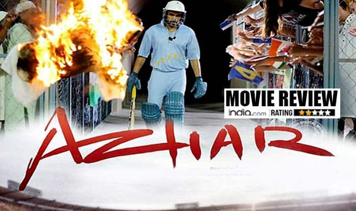 Azhar Movie review: This Emraan Hashmi starrer will please Mohammad Azharuddin but may disappoint Chetan Bhagat!