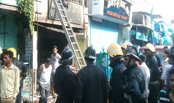 Mumbai: 8 killed in fire at Andheri West medical store
