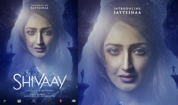 Ajay Devgn introduces Shivaay's leading lady Sayyeshaa with new poster!