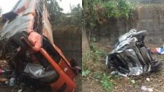 Mumbai: Bus collides with Swift, Toyota Innova at Mumbai-Pune Expressway, 12 die