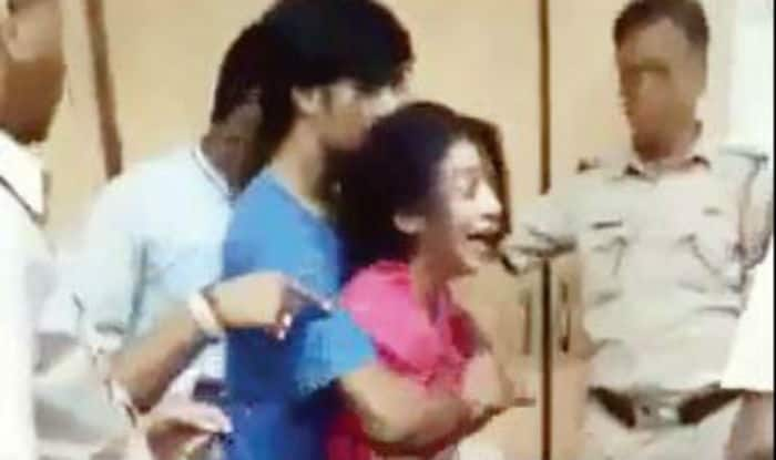 OMG! Drunk woman thrashes cops, ransacks Worli police station (Watch video)