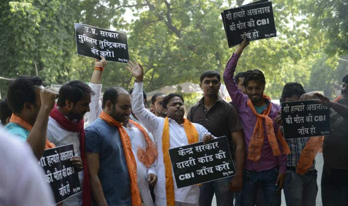 Dadri on high alert after report said 'it was beef'; 'Mahapanchayat' called despite imposition of Section 144