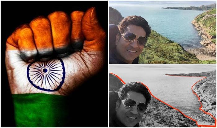 This Sachin Tendulkar travel picture makes you feel so patriotic!