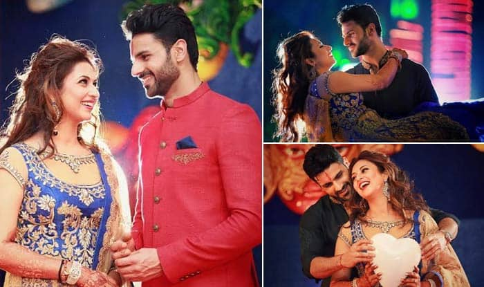 Divyanka Tripathi's wedding reception: The Yeh Hai Mohabbatein beauty dazzles in a stunning outfit!