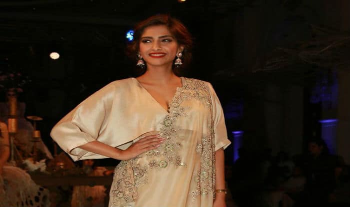 Sonam Kapoor attends Anamika Khanna's India Couture Week show
