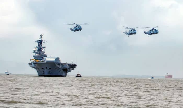INS Viraat embarks on farewell voyage to Kochi