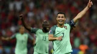 Euro 2016: Cristiano Ronaldo, Nani send Portugal to finals, beat Wales 2-0