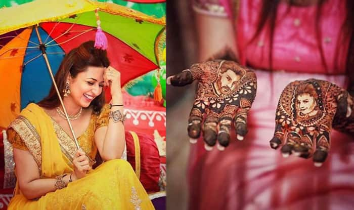 Divyanka Tripathi' pre-wedding photos: Bride's Haldi and Mehendi ceremony pictures are lovely!