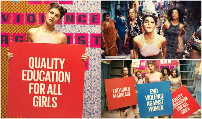 #WhatIReallyReallyWant: Jacqueline Fernandez & Spice Girls' revamped Wannabe song is the most empowering thing you will listen today!