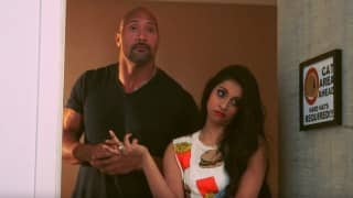 Internet Sensation Lilly Singh Teaches The Rock How to be a YouTuber