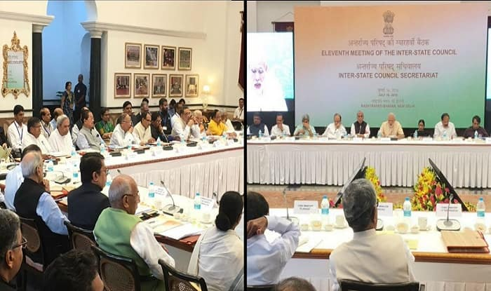 Narendra Modi chairs Inter-State Council meeting with 31 Chief Ministers, Delhi CM Arvind Kejriwal in attendance