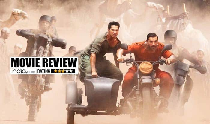 Dishoom movie review: John Abraham and Varun Dhawan pack a powerful punch!