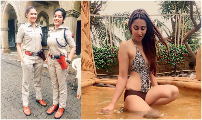 Diya Aur Baati Hum actress Rishina Kandhari sheds police uniform, looks super sexy in bikini!
