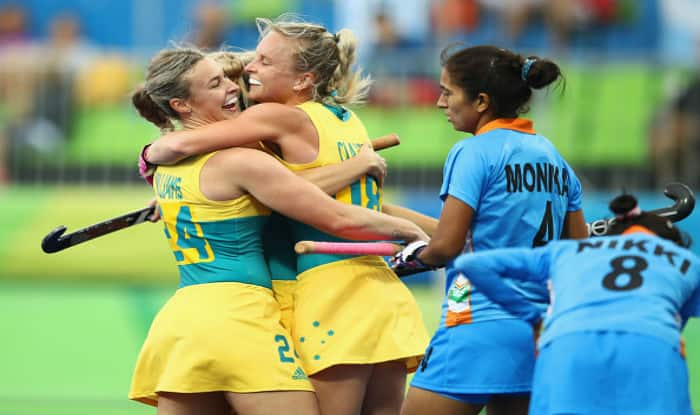 India's women hockey team thrashed 1-6 by Australia at Rio