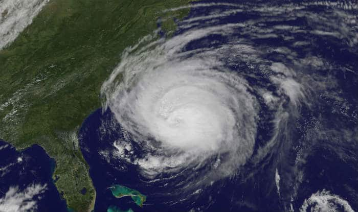 Hurricane Florence Makes Landfall in US