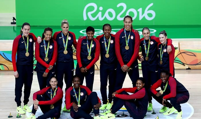 Rio Olympics 2016: USA rout Spain for 6th women's hoops gold in a row