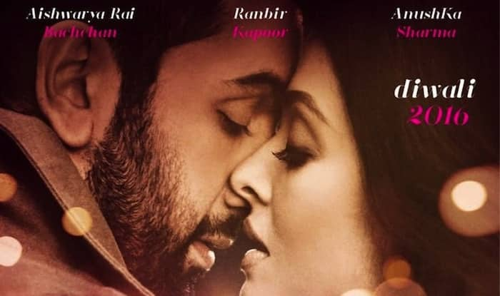 Ae Dil Hai Mushkil first look posters: Ranbir Kapoor & Aishwarya Rai Bachchan have awesome chemistry! And there's Anushka Sharma, too!