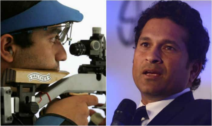'Abhinav Bindra, we are proud of you,' Sachin Tendulkar gives special farewell to Olympics star shooter