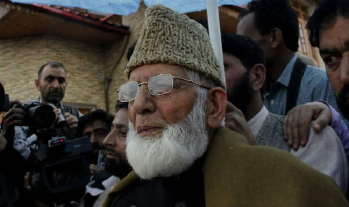 Talks within Indian Constitution not acceptable: Syed Ali Shah Geelani