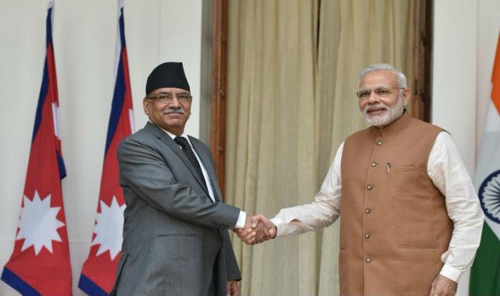 Nepal PM Pushpa Kamal Dahal accorded ceremonial welcome at Rashtrapati Bhawan