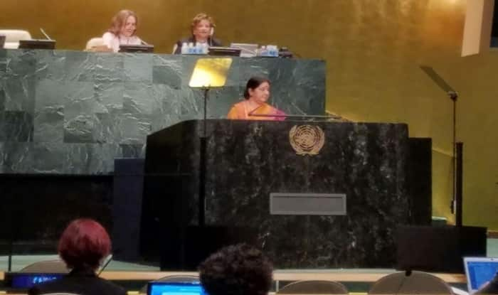 Sushma Swaraj speech at UN: Stern warning to Pakistan – 'Those living in glass houses shouldn't throw stone at others' (Watch full video)