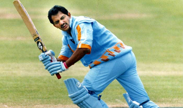 Mohammad Azharuddin during his 62-ball hundred- the then fastest century for Team India in ODIs || Image Source: BCCI