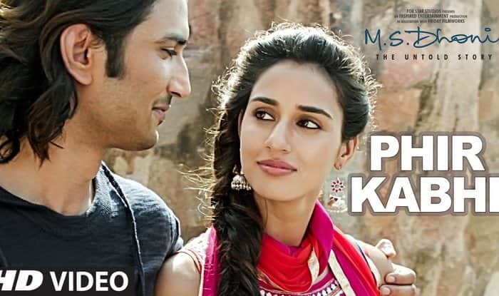 MS Dhoni: The Untold Story song Phir Kabhi: Charming love story of MS Dhoni and Priyanka Jha (Watch video)